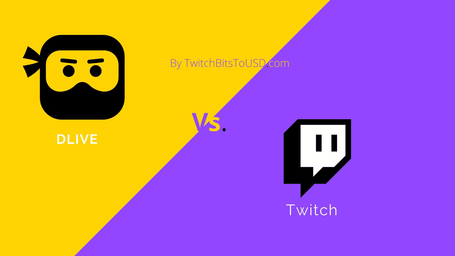 Dlive vs twitch